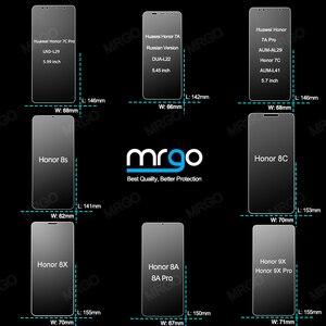 Image 4 - Vetro temperato per Huawei Honor 8X 9X 7A 8A di Vetro sulla Protezione Dello Schermo di Protezione di Sicurezza di Vetro per Honor 8X 8A 9X 7A Pro 7C 8C 8S