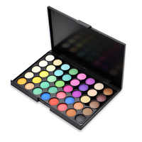 40 Colors Waterproof Glitter EyeShadow Palette Diamond Shimmer Eye Primer Pigment Long Lasting Nude Matte Eye Shadow Cosmetic