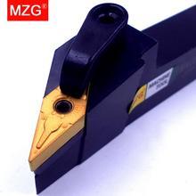 MZG 20mm 25mm MVJNR1616K16 obróbka nudne frez do cięcia metalu węglika uchwyt na narzędzia tokarskie zewnętrzne tokarka CNC Arbor