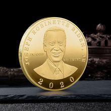 Joe Biden President Commemorative Souvenir Coin Challenge Collectible Art Coins