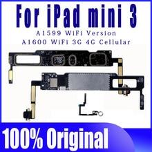 Placa base A1599 A1600 Clean iCloud, versión móvil, Wifi, desbloqueado, lógica, para ipad MINI 3, con Sistema IOS