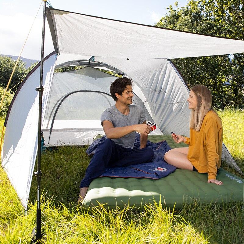 naturehike tpu engrossado duplo colchao inflavel acampamento 04