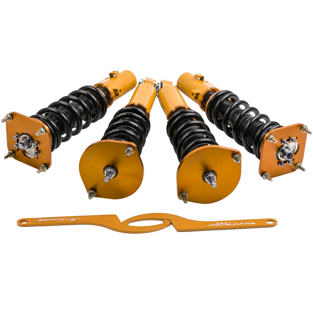 Compete Coilovers Struts for <font><b>Mazda</b></font> Savanna <font><b>RX7</b></font> FC3S 1.3L R2 Coupe 1986-1991 Coilover Coil Spring Struts Suspension Absorber image