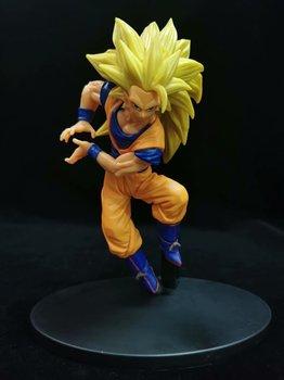 Nueva llegada de la bola del dragón del Anime Z Súper Saiyajin 3 Goku 52 # DBZ Gogeta broly de PVC colección de figuras de acción juguetes modelo LELAKAYA