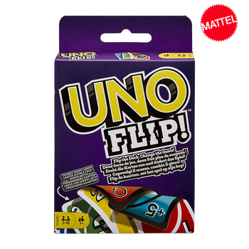 Mattel Games UNO Flip! Card Game Multiplayer Card Game Family Party Games Toy Kids Toys children s toys game desktop toy pull stick toy multiplayer game party desktop interactive game kids education toys