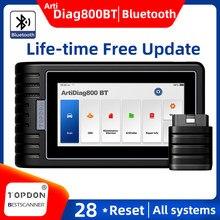 TOPDON ArtiDiag800 BT Car Diagnostic Tool Automotive Scanner Auto Scan Tools OBD2 OBD Bluetooth PK AUTEL MK808BT LAUNCH CRP909