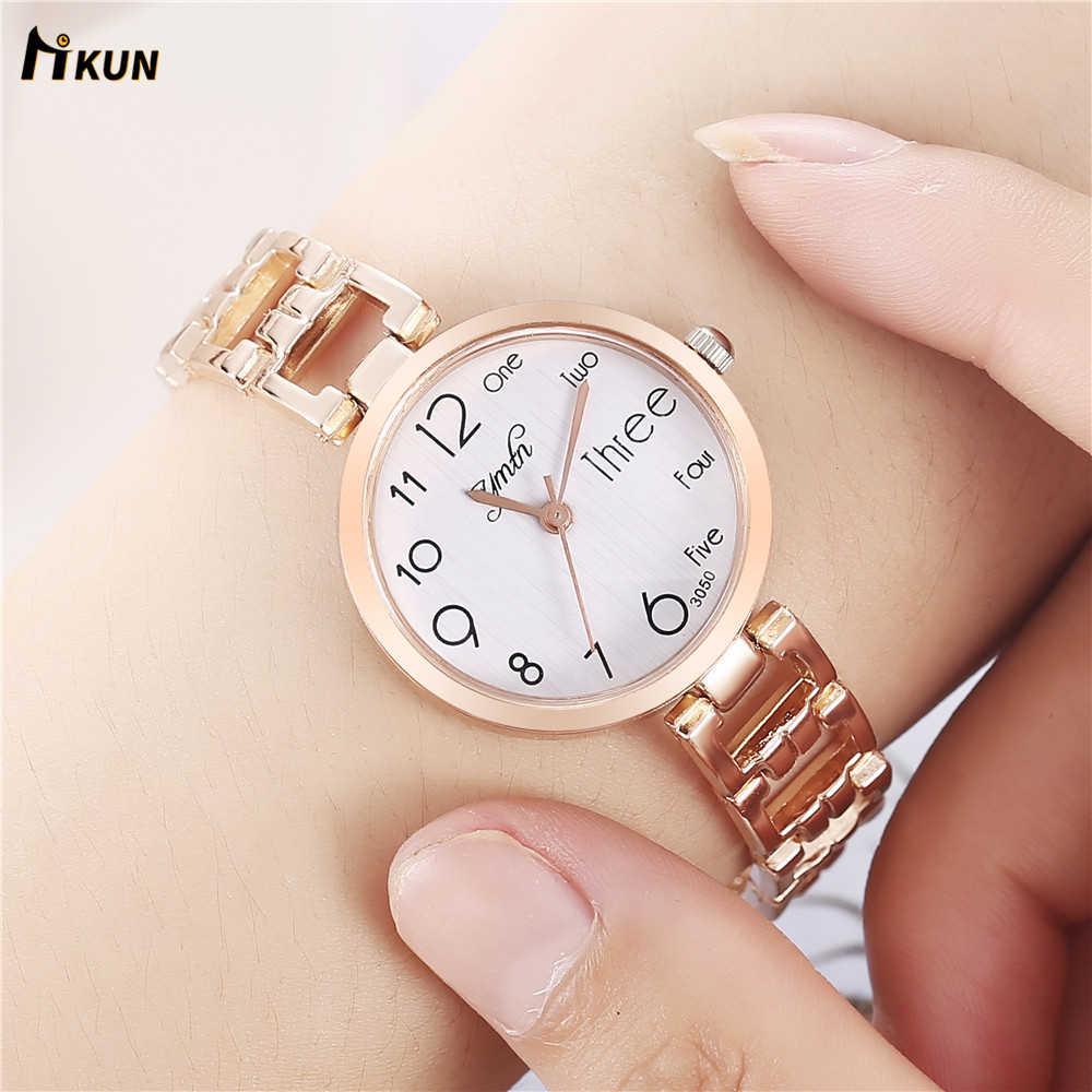 2019 браслет часы женские модные роскошные дизайнерские платья высокого качества из нержавеющей стали ремешок серебро розовое золото кварцевые наручные часы