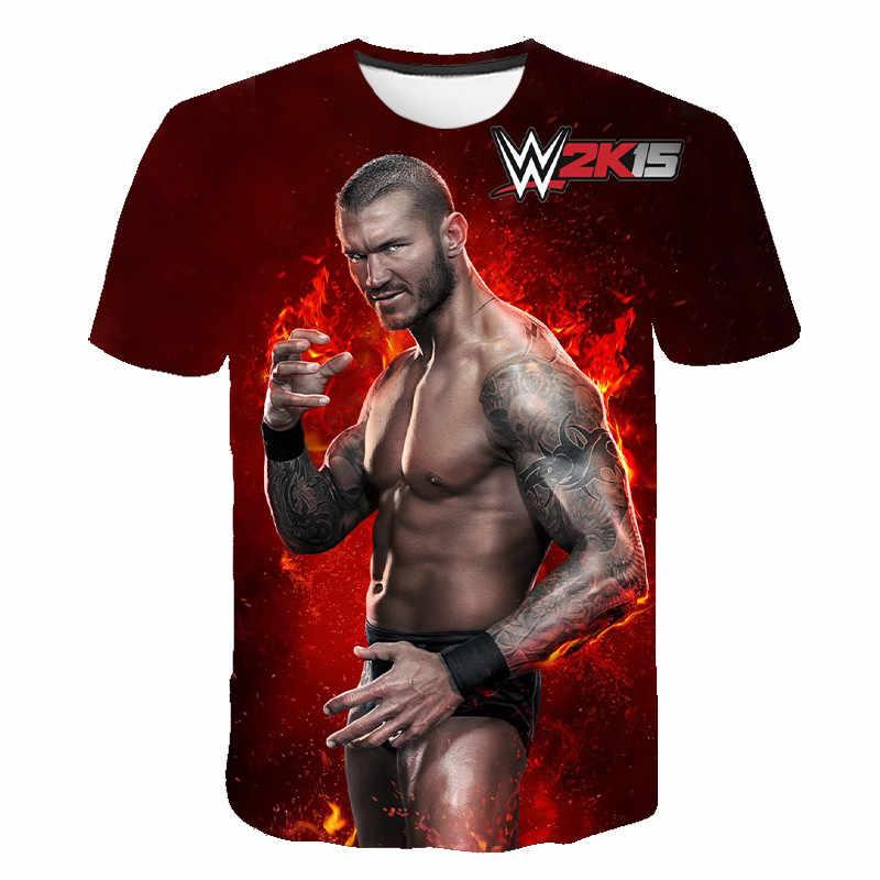 2020 ג 'ון סינה חדש 3D מודפס דפוס אמריקאי חולצה היאבקות איחוד WWE כושר לנשימה אופנה מגניב גברים של קצר שרוול