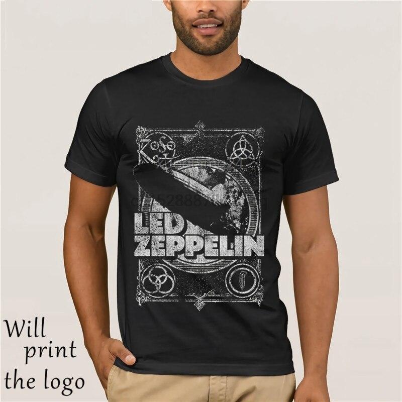 Led Zeppelin haken Mir keine-NEU UND OFFIZIELL männer marke kleidung hohe qualität Mode mann T-shirt 100% baumwolle 2019