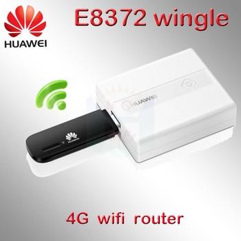 Unlocked huawei e8372 150mbps modem E8372h-608 4G WiFi Dongle LTE Universal USB Modem wifi 4g modem sim card