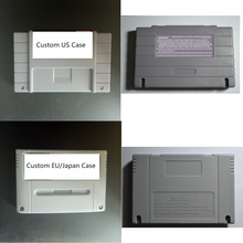 Custom Game Card For SNES 16 Bit Game Console