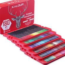 Colored Pencils, Professional Set of 180 Colors, Soft Wax-Based Cores, Art Supplies for Drawing , Sketching, Shading & Coloring