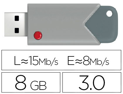 USB MEMORY EMTEC FLASH 8 GB 20 CANDY