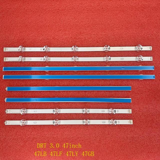5 Bộ = 40 Chiếc Đèn Nền LED Dây Cho LG 47LB600 47LB5800 47LB6500 Innotek DRT 3.0 47 Inch Một B 6916L 1715A 1716A 6916L 1961A 1962A