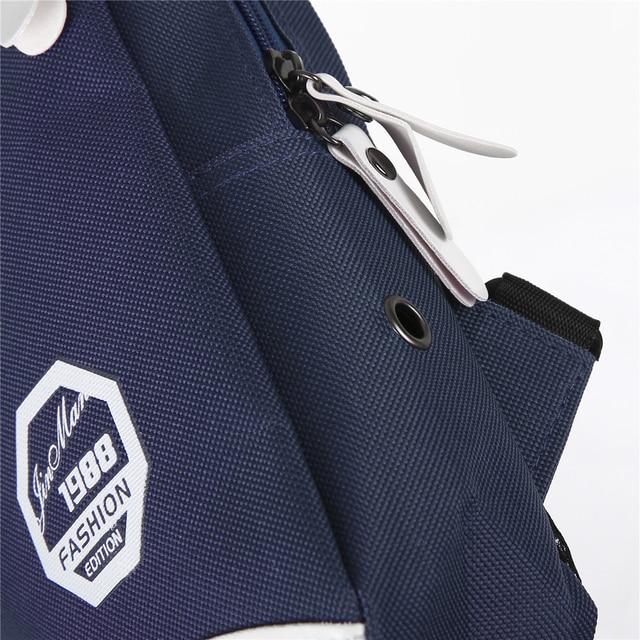 5 Colors Unisex Chest Bag Men Women Waterproof Handbag Zipper Durable Shoulder Casual Fashion Travel Sports Bag 4