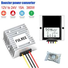 15а понижающий преобразователь постоянного тока 24 вольт до 12 вольт Regulator регулятор напряжения для автомобилей солнечной 25