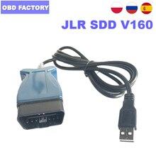 Jlr sdd v160 jlr suporte da ferramenta de diagnóstico automático até 2017 jlr pro para land rover sdd para jaguar sdd obdii interface de diagnóstico