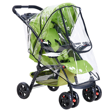 Travel Dust Shield Breathable Baby Stroller Accessories Rain Cover Protective Waterproof Practical Windproof Universal PVC
