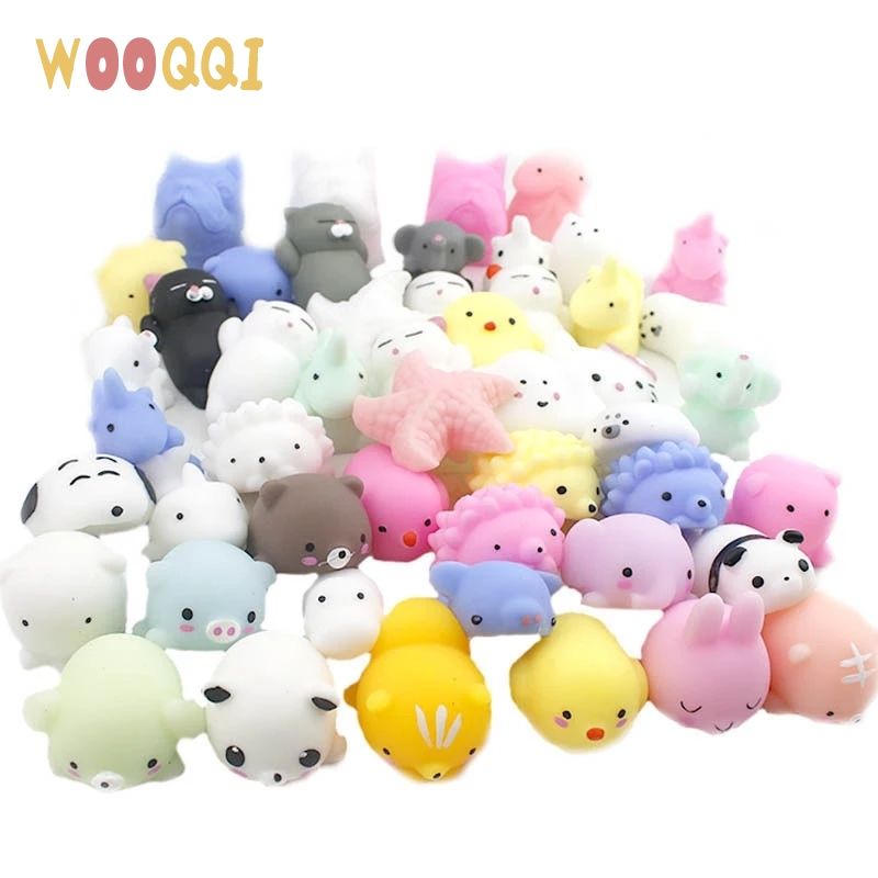 Squeeze Toys Fidget Stress Squishy Funny Cute Animals Kawaii Relief-Gifts