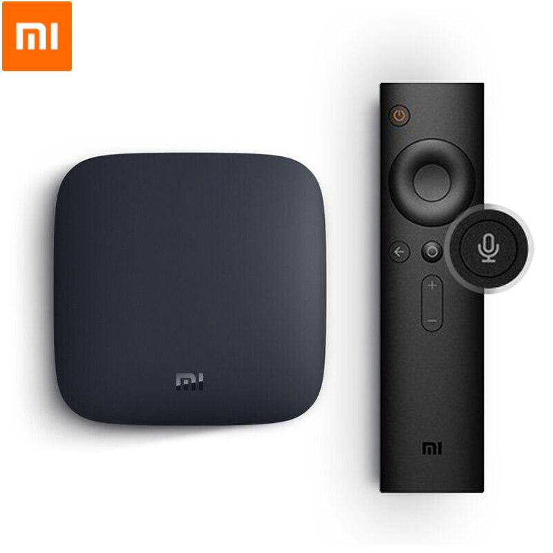Xiaomi – boîtier Smart TV 3, Android 8.0, 2 go/8 go, 4K/Ultra HD, lecteur multimédia pour films, avec WiFi, Google Cast, Netflix, Red Bull, Original