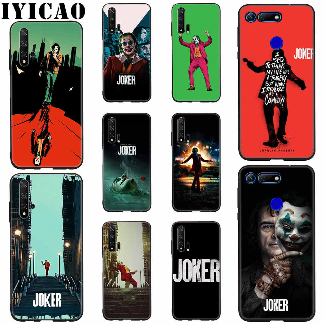 Joaquin Phoenix joker Silicone Soft Case for Honor View 20 8C 8X 8 9 10 Lite 6A 7C 7X 7A 9X 20 Pro Note 10 Case