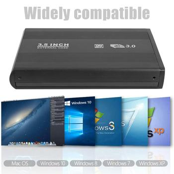 Hot Sale Hard Disk Case 3.5 inch SATA HDD to USB3.0 Adapter Classic Delicate Aluminum Alloy External Hard Drive Enclosure