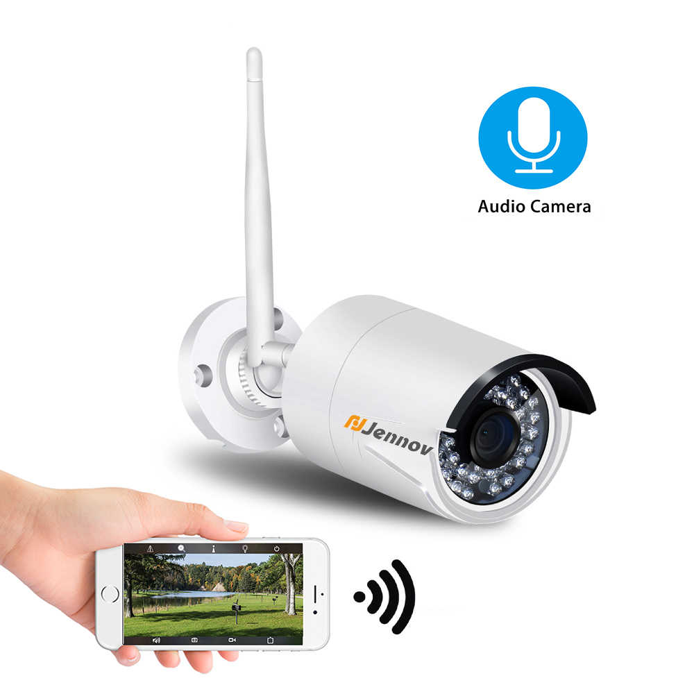 Nirkabel Ip Kamera 1080P 2MP Keamanan Rumah Camara Wifi Kolam Pengawasan Video Wi Fi IP P2P Sistem Audio ONVIF HD