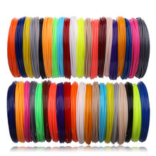 Rolls ABS PLA Plastic for 3d pen 50,100 meter 10,20 color filament 3d handle set 3 d refill kids birthday gifts