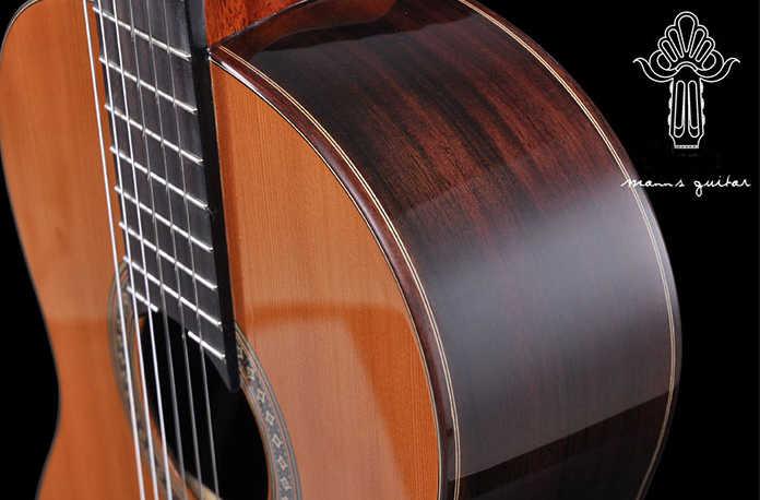 Guitarra Clásica de madera maciza MC60 guitarra clásica hecha a mano