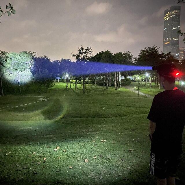 300000 лм xhp902 светодиодная головная лампа xhp90 высокомощный фотография