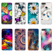 Case For Huawei Enjoy 7S Case 5.65 Soft Silicon Back Bumper Cover For Huawei P Smart Cover Coque For Fundas Huawei Enjoy 7S Bag for huawei p smart case shockproof luxury leather anti knock cover for huawei enjoy 7s case for huawei p smart enjoy 7s 5 65