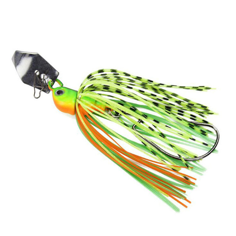 Chatterbait Fishing Lures 7cm13/17g Fishing Tackle Spinnerbait Fishing Accessories Isca Artificial Buzz Fish Bait Pesca-0