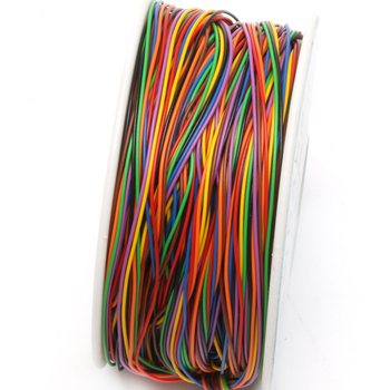 One Roll 8 Colors 30AWG Wire Wrapping Wire Tinned Copper Solid PVC Insulation tanie i dobre opinie ANENG CN (pochodzenie) Other GUGUJI222 Stałe Izolowane