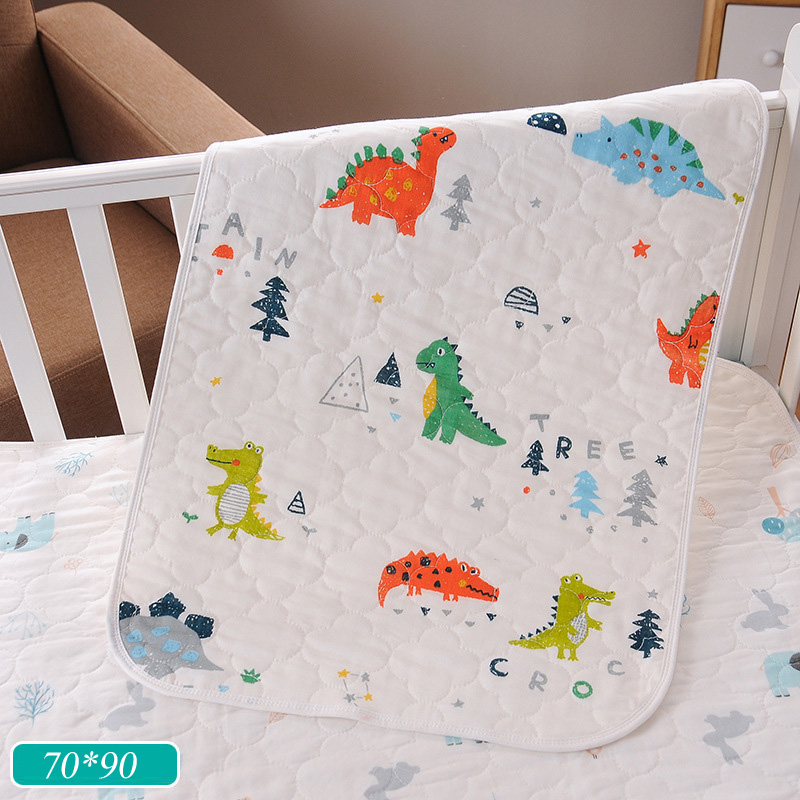 HereNice 70*90 New Born Baby Diaper Changing Pad Kids Waterproof Mat Kid  Bed Sheet Menstrual Women Can Also Use