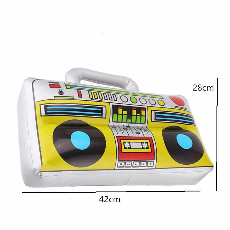 1PC PVC Aufblasbare Instrument Spielzeug für Kinder Karneval Party Musik Band Pretend Spiel Sie Spielen Zubehör für Kinder