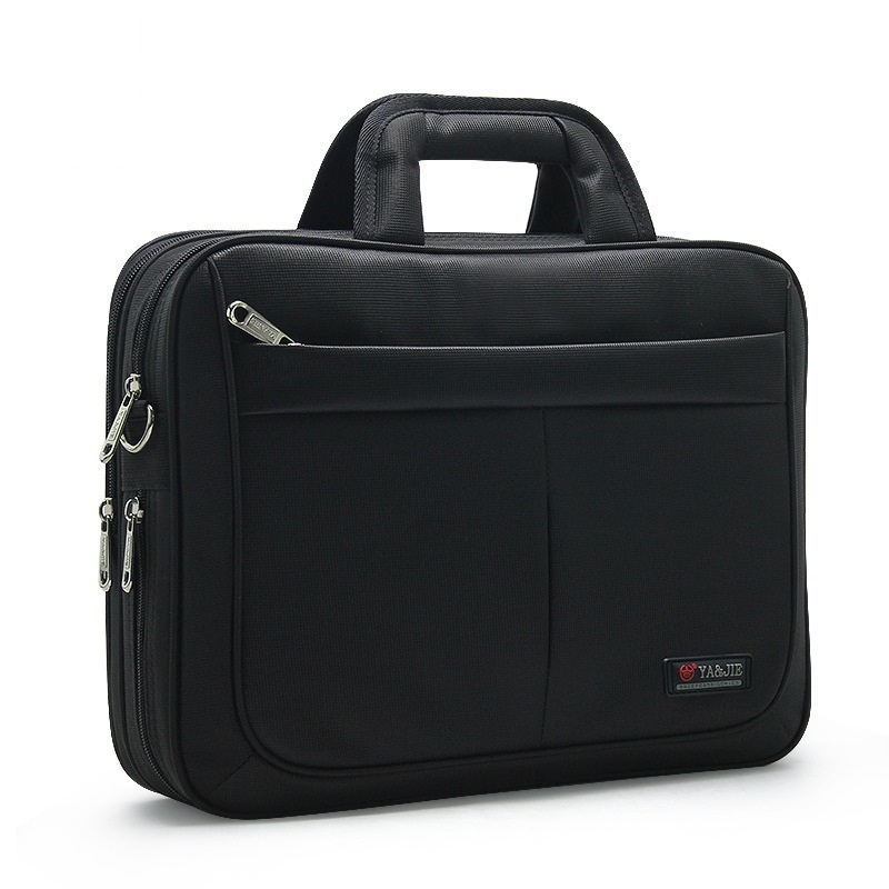 4 Styles Business Men 14 16 Inch Laptop Waterproof Oxford Shoulder Strap Briefcase