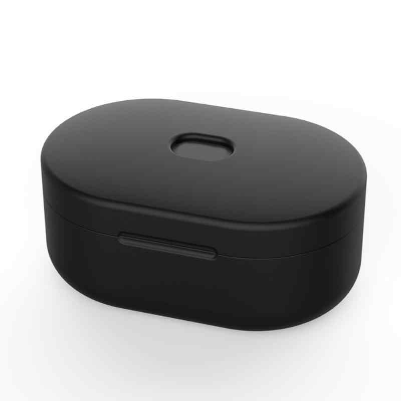 Silicone Pelindung Cover untuk Xiaomi Redmi Airdots Pelindung Cover untuk Xiaomi Airdots Pelindung Penutup Nirkabel Headphone Case