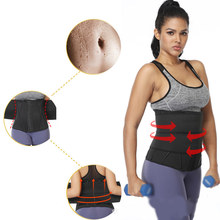 Neoprene Sauna Shaper Waist Trainer Corset Sweat Slimming Belt Women Weight Loss Compression Crossfit Trimmer Workout Fitness(China)