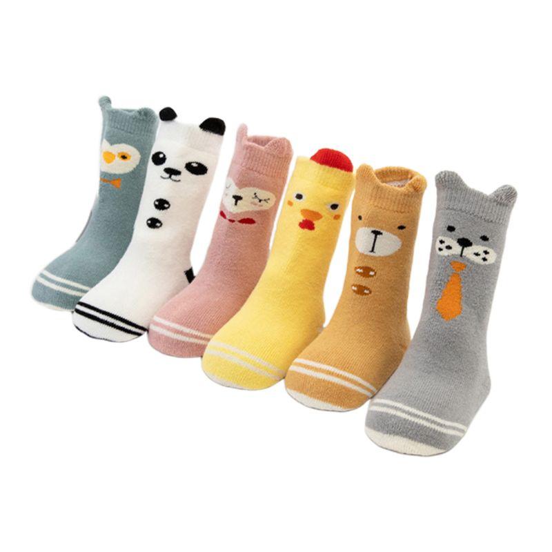 6 x Kids Children Boy Girl 100/% Cotton School Socks
