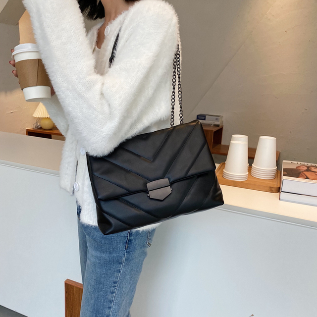 Embroidery Thread Small PU Leather Crossbody Bags For Women  2