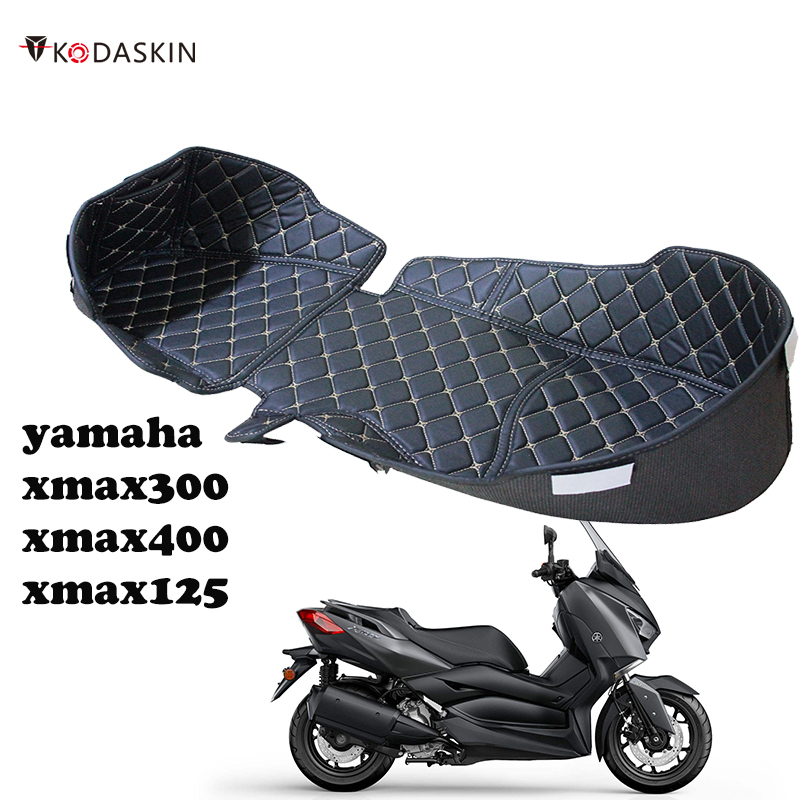 Motorcycle Storage Box Leather Rear Trunk Cargo Liner Protector Accessories For Yamaha Xmax 300 125 400 XMAX300 XMAX400 X Max