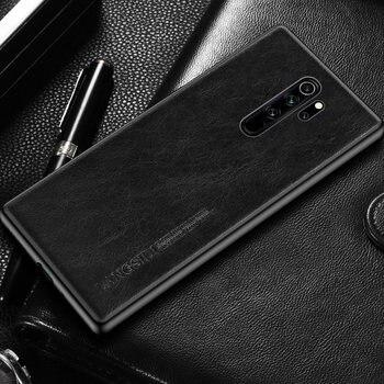 Genuine Oil Wax Leather case for Xiaomi Redmi Note 8 Pro 8T Note 9 Pro 9s 7 6 4X cover For Mi Poco X3 NFC 10 Pro 9 9T Pro A3 A2