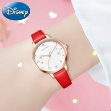Минни Маус Девушки Любят Звезды Мечты Сердце Розовый Смотреть Красивые Милашки Леди Мода Свободного Покроя Часы Дети Подарок День Рождения