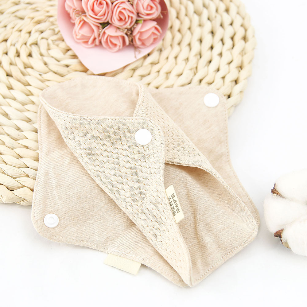 1pc Reusable Menstrual Pads Washable Women Sanitary Pad Napkin Soft Panty Liner Cloth Organic Cotton Pads Adult Diapers 18*6cm