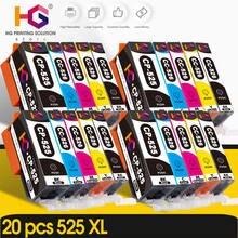 20 шт картриджи с чернилами для canon pgi 525 pgi525xl cli526xl