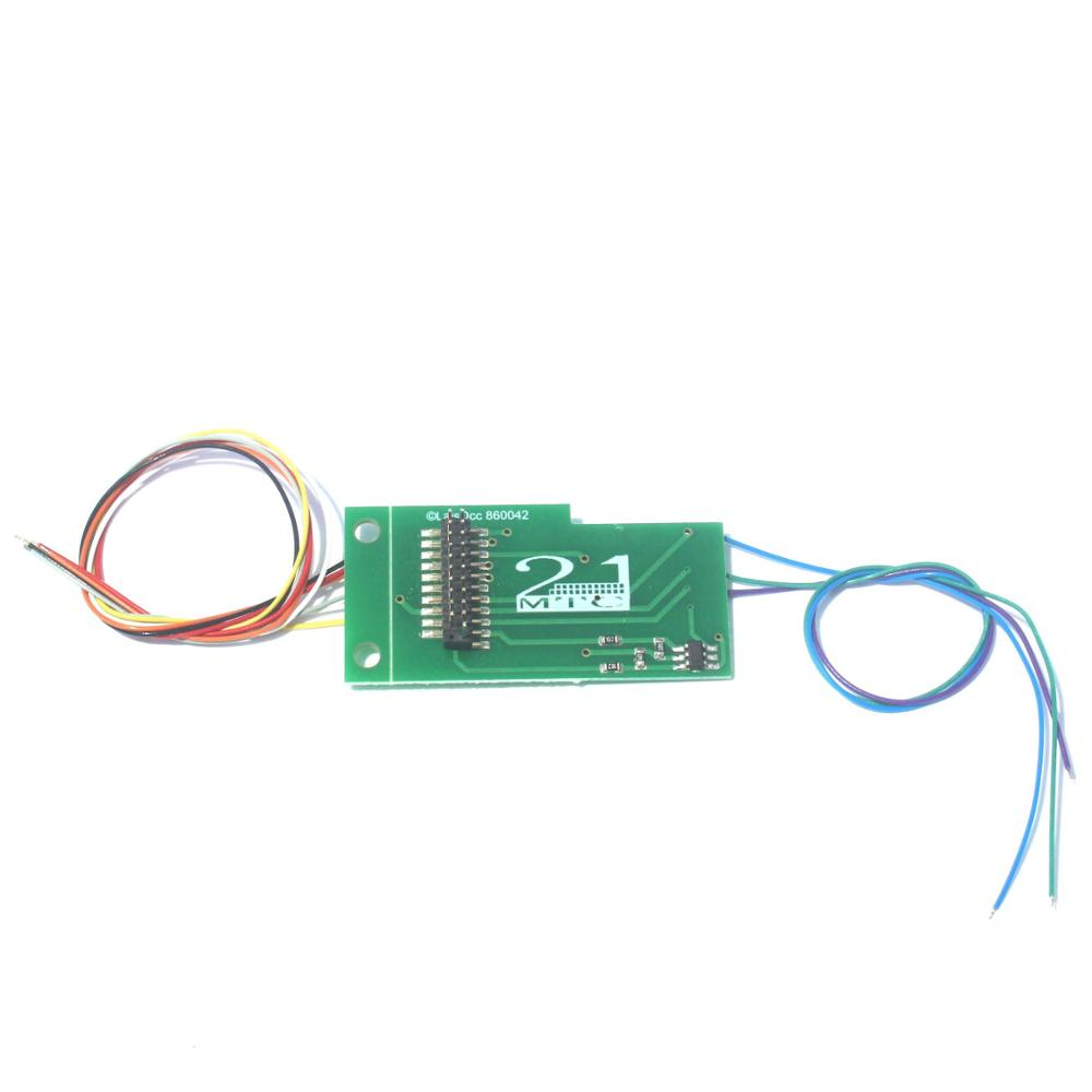 860042 21MTC Adapter Board No.2 with power amplifier MOS and Wires/LaisDcc Brand