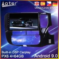 Android 9 PX6 64G Car DVD Player GPS Navigation For Mitsubishi Outlander RHD 2014 2018 Car Auto Radio Multimedia Player HeadUnit