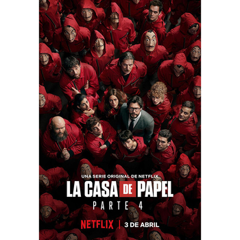 New Full square/round 5D DIY diamond painting La casa de papel TV Poster 3D diamond embroidery cross stitch mosaic Gift WG1999 image