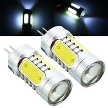 For CITROEN C5 for PEUGEOT 3008 5008 2pcs HP24W G4 Canbus LED Light Super White Auto Car Fog Signal Lamp Bulb Mayitr