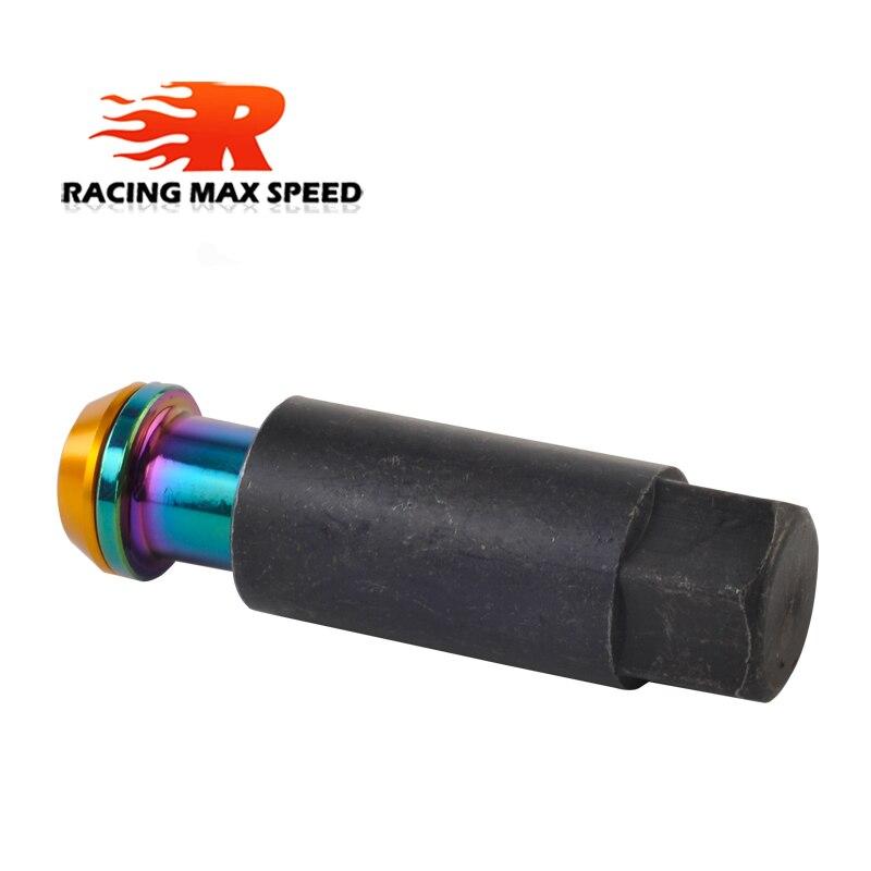 M12x1.5 20x BLACK D1 Alloy Locking Wheel Nuts tool fits FORD FOCUS